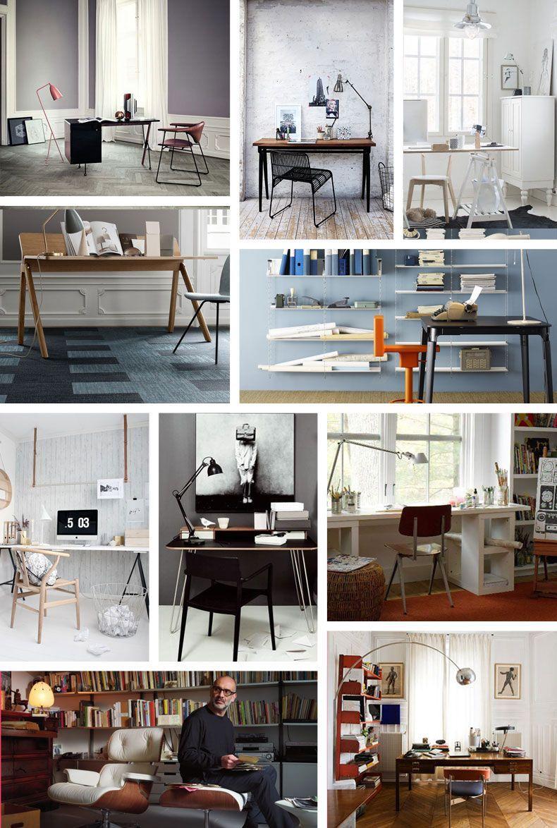 Werkkamer meubels